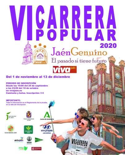 Carrera VI Carrera Popular Jaén Genuino