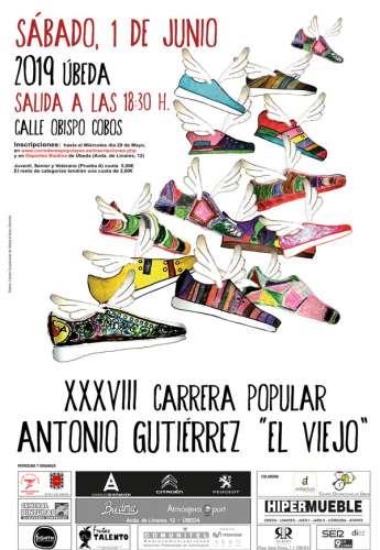 XXXVIII Carrera Urbana Antonio Gutiérrez El Viejo