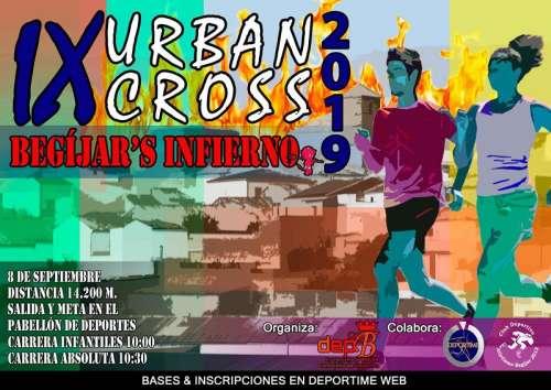 Carrera IX Urban-Cross Begíjar Infierno