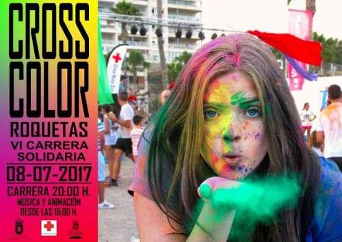 VI Carrera Solidaria Cross Color Roquetas