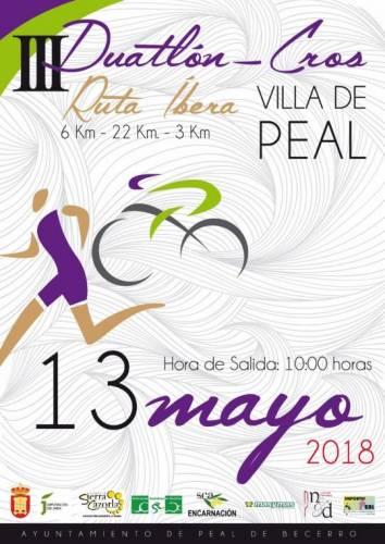 III Duatlón Cros Villa De Peal
