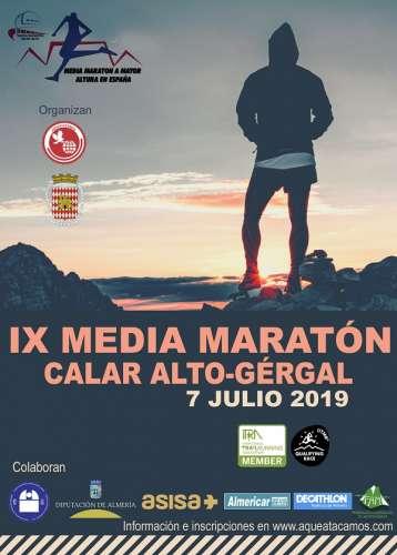 IX Media Maratón Calar Alto - Gérgal