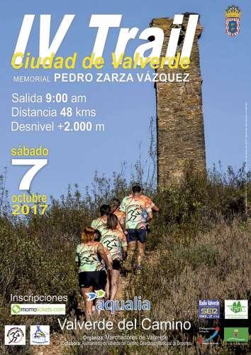 IV Trail Ciudad de Valverde Memorial Pedro Zarza Vázquez