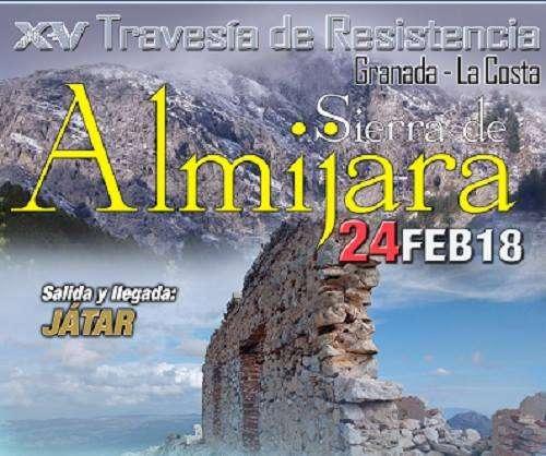 XV Travesía de Resistencia Sierra de Almijara