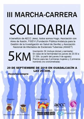 III Carrera-Marcha Solidaria Contra el Cancer