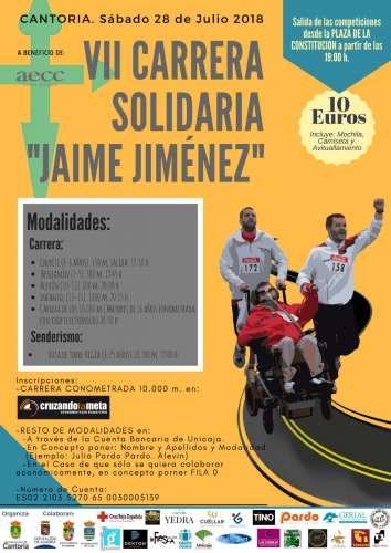 VII Carrera Solidaria Jaime Jiménez