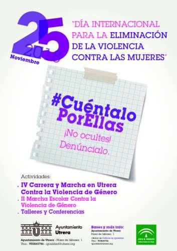 IV Carrera y Marcha en Utrera contra la Violencia de Género