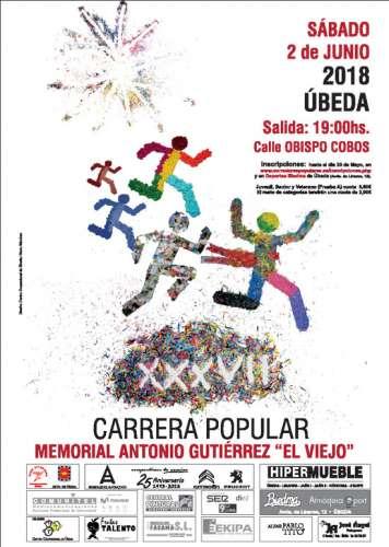 XXXVII Carrera Urbana Antonio Gutiérrez El Viejo