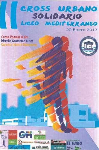 II Cross Urbano  Solidario  Liceo  Mediterraneo
