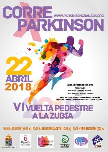 VI Vuelta Pedestre a La Zubia Corre por el Parkinson