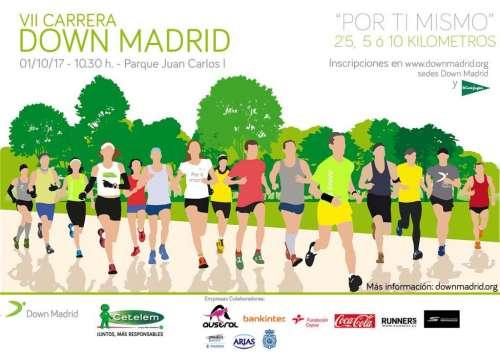 VII Carrera Solidaria de Down Madrid