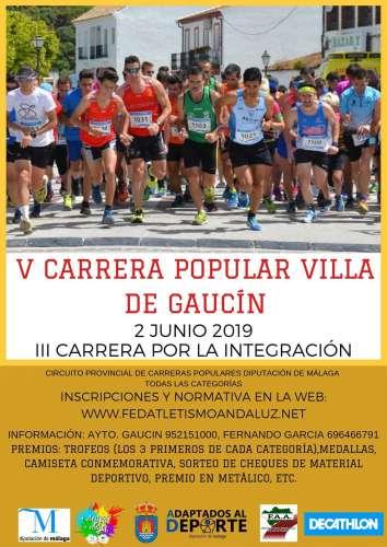 V Carrera Popular Villa de Gaucín