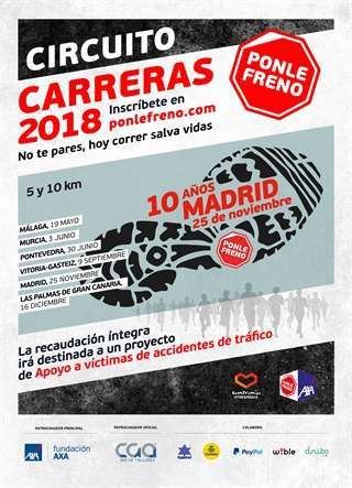 Carrera ponle Freno Madrid 2018