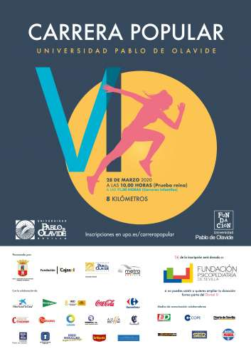 VI Carrera Popular de la Universidad Pablo de Olavide