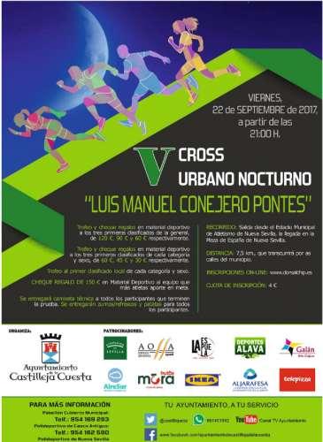 V Cross Urbano Nocturno Luis Manuel Conejero Pontes
