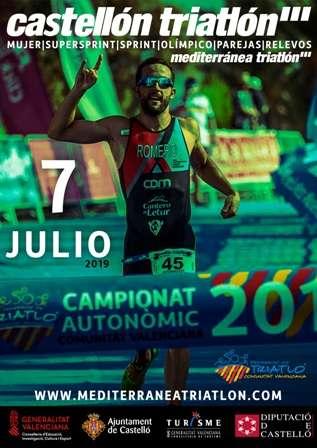 Mediterránea Triatlón 3x3x3 Castellón