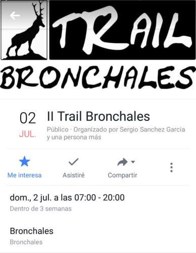 II Trail Bronchales