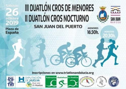II Duatlón Cros Nocturno San Juan del Puerto