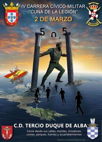 IV Carrera Cívico-Militar Cuna de La Legión