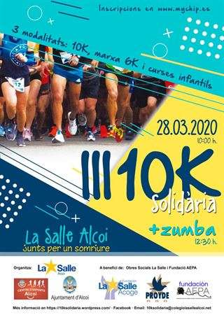 Carrera 10k solidaria La Salle