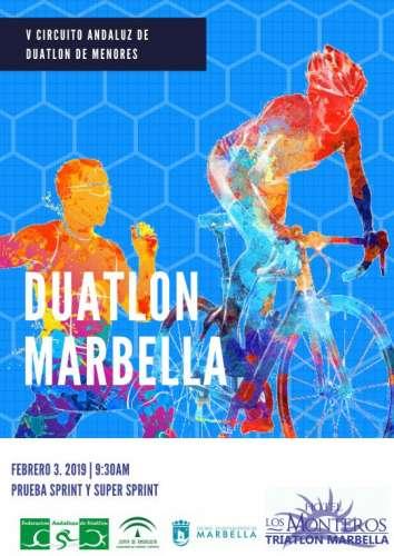 Carrera XVIII Duatlón Ciudad de Marbella