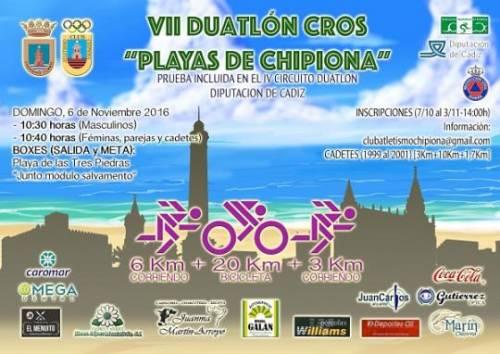 VII Duatlón Cros Playas De Chipiona