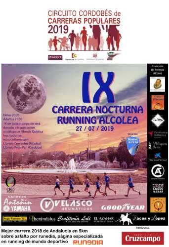 IX Carrera Nocturna Running Alcolea