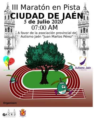 Carrera III Maratón en Pista Ciudad de Jaén