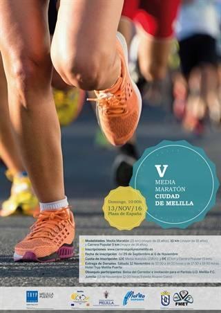 V Media Maratón Ciudad de Melilla