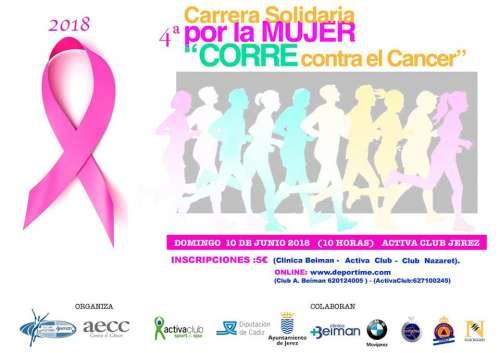 IV Carrera Solidaria por la Mujer Corre contra el Cancer