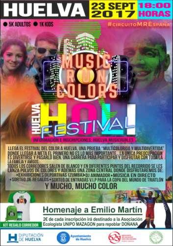 Music Run Colors Huelva