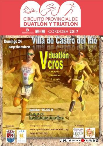 V Duatlón Cros Villa De Castro Del Río