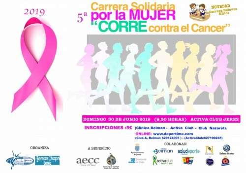 V Carrera Solidaria por la Mujer Corre contra el Cancer