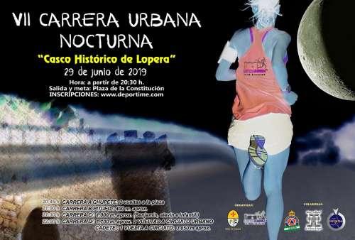 VII Carrera Urbana Nocturna Casco Histórico de Lopera