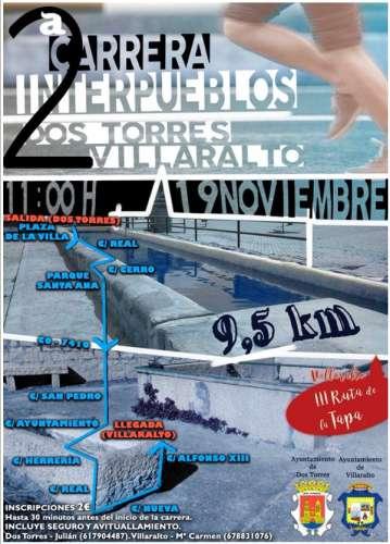 II Carrera Interpueblos Dos Torres-Villaralto
