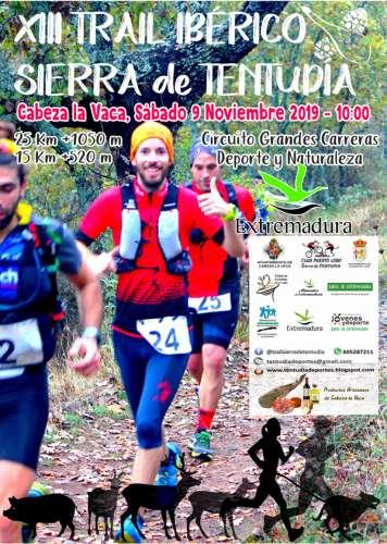 XIII Trail Ibérico Sierra de Tentudia