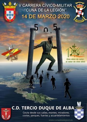 V Carrera Cívico-Militar Cuna de La Legión