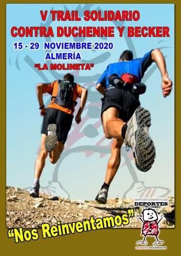 Carrera V Trail Solidario Contra Duchenne y Becker