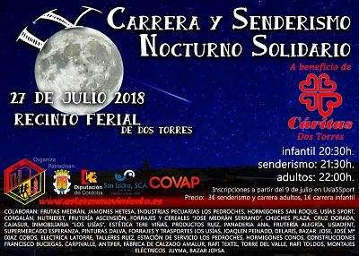 IV Carrera y Senderismo Nocturno Solidario