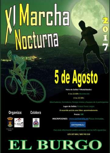 XI Marcha Nocturna El Burgo