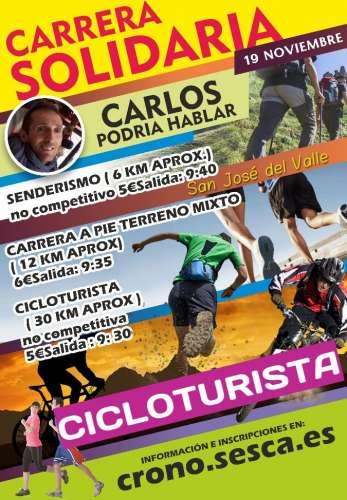 Cicloturista Solidaria CARLOS Podría Hablar
