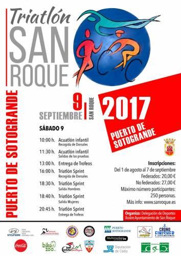 V Triatlón San Roque