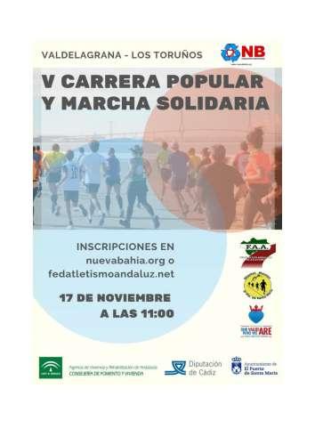 V Carrera Popular Solidaria ONG Nueva Bahía