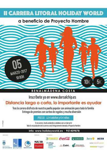 II Carrera Litoral - Holiday World - Proyecto Hombre