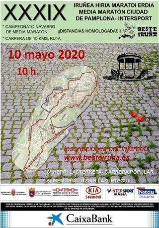 Carrera XXXIX Medio Maratón Pamplona