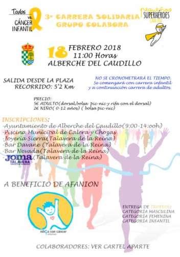 III Carrera Solidaría Contra el Cáncer Infantil