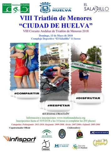 VIII Triatlón de Menores Ciudad de Huelva