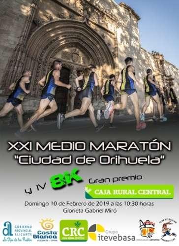 XXI Medio Maratón Ciudad de Orihuela