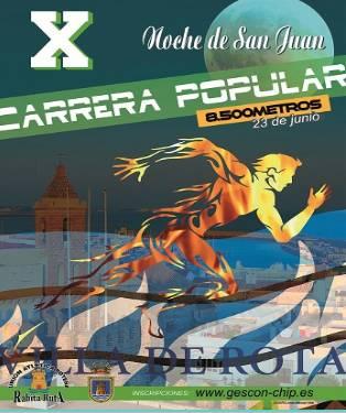 X Carrera Popular Noche de San Juan Villa de Rota