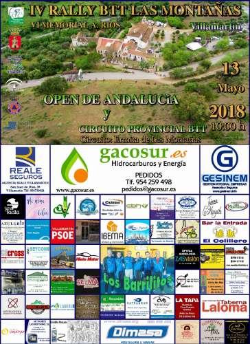 IV Rally BTT Las Montañas Villamartín